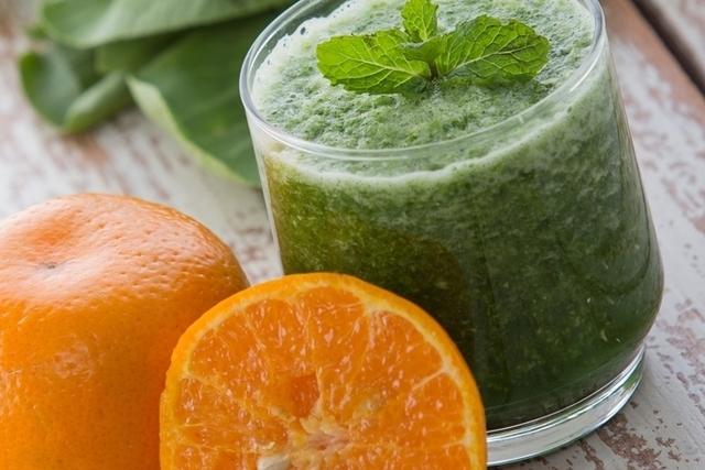 Alimentos verdes e amarelos