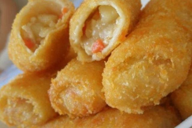 receita de risole de camarão com massa com milho