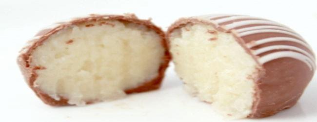 trufas recheadas de coco