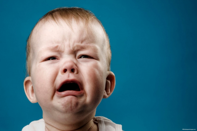 Cute Crying Baby