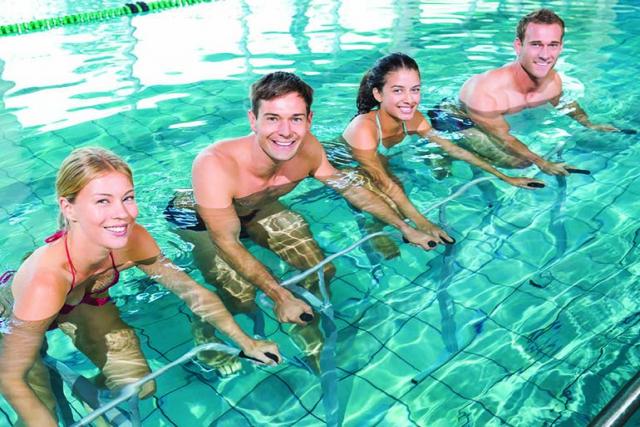 Novas atividades na piscina que estão fazendo sucesso!
