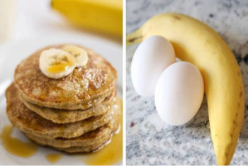 Coma essa panqueca de dois ingredientes toda manhã e veja a gordura sumir do seu corpo