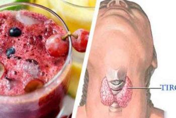 Esse suco é tudo que você precisa para equilibrar e acabar com a inflamação da tireoide