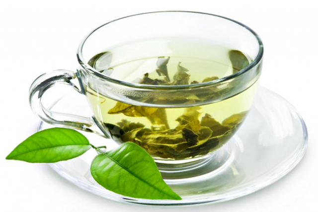 chá verde para perder e secar barriga1