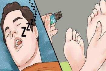 Espirre esse remédio nos pés antes de ir dormir e colha os benefícios pra saúde